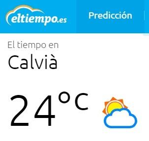 NOVACENTRO - CLIMA EN CALVIÀ - ELTIEMPO.ES - OTOÑO EN CALVIÀ - CLIMA BALEARES - COWORKING PALMANOVA - NOVA CENTRO - GOOGLE